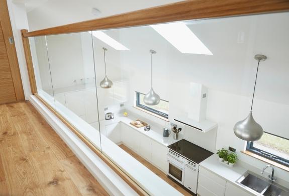 Open Plan Luxury kitchen space